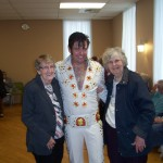 Elvis and his groupies